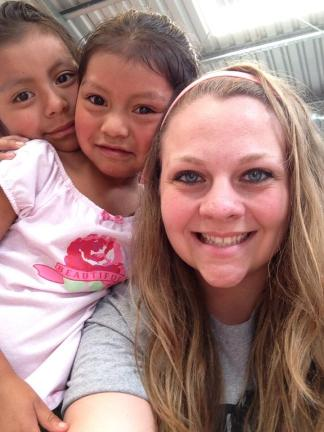 Clara and Sophia at the CDI. These sisters have such sweet personalities and loved to be around the missionaries and give hugs!