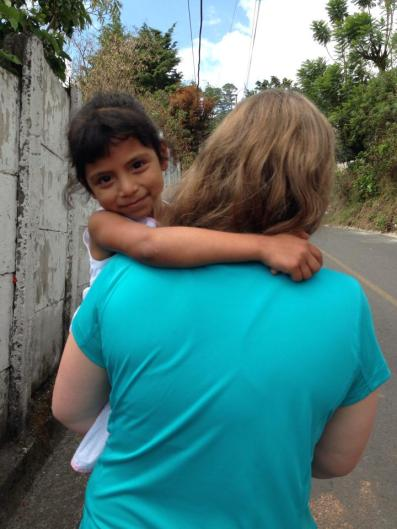 On my way to my first house visit with Nicole. This visit was about a 45 minute walk from the center, which helped us understand really quickly the daily struggle that many of the children have to go through to walk back and forth from the center to home or school.