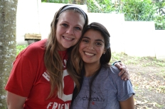 Adriana, one of our translators and an amazing sister in Christ. It was great seeing her again after spending so much time with her in March!