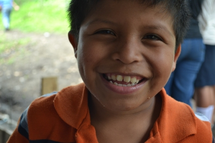 Nelson, one of the boys who attends the CDI. He is a ball of energy, and is always laughing and ready to play with any of the missionaries who will join him.